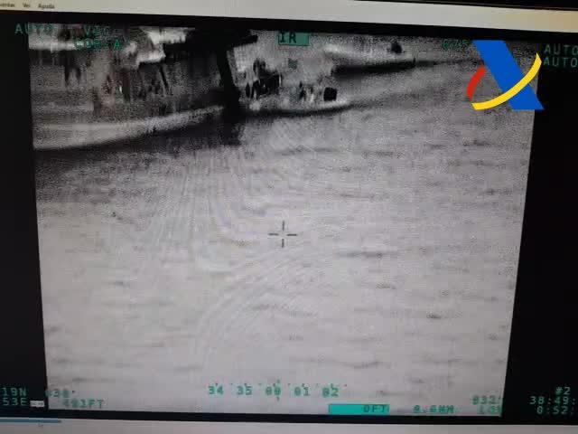 Interceptan un barco con más de 300 kilos de cocaína en aguas de Baleares