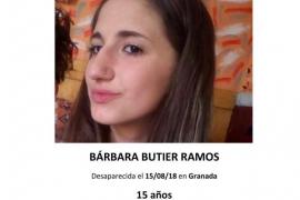 Guardia Civil y Policía Nacional buscan a una menor desaparecida desde el día 15 en Granada