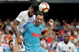 Valencia y Atlético debutan con empate en un choque igualado