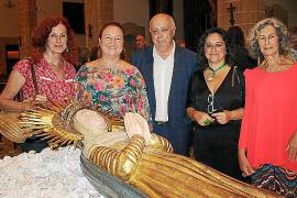 Llit de la Mare de Déu en la iglesia de Sant Gaietà
