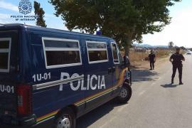 Tres detenidos con 40 gramos de cocaína cerca de Son Banya