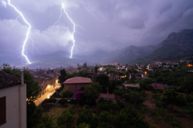 Este miércoles por la tarde vuelven las tormentas a Baleares