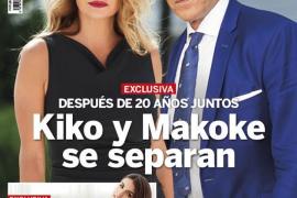 Kiko Matamoros y Makoke rompen su relación tras 20 años juntos