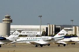El tráfico de aerotaxis en Son Sant Joan aumenta un 40 % en tres años