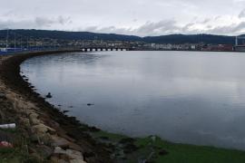 Aparece el cadáver de una persona flotando cerca del puente de As Pías en Ferrol