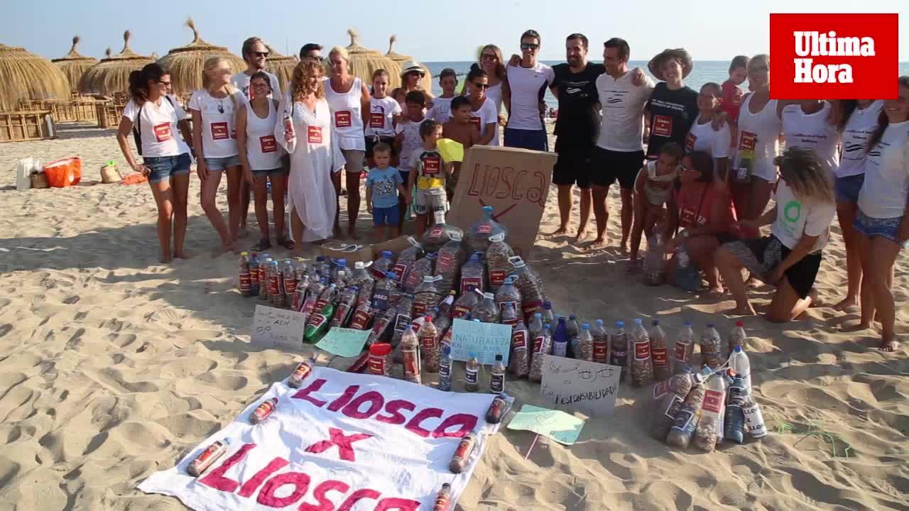 La iniciativa 'Llosca x Llosca' recoge más de 100.000 colillas de las playas