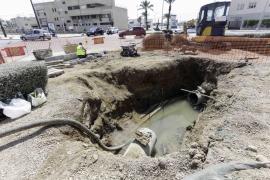 Abaqua pide a la Península unas «bridas especiales» para reparar la tubería averiada