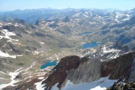Muere una montañera de Madrid al caer por la ladera de un pico del Pirineo