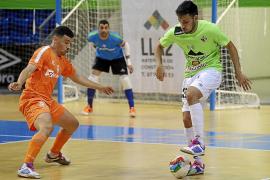 Exhibición del Palma Futsal ante el Cartagena