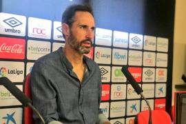 Vicente Moreno descarta más fichajes: «Es difícil mejorar lo que hay»