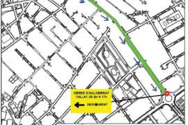 Este lunes comenzarán las obras de asfaltado en el Camí de la Vileta