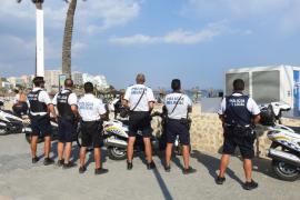La Policía de Calvià sigue la lucha contra la venta ambulante en las playas