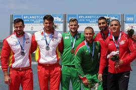 Craviotto/Toro y el K4 1.000 suman dos nuevas medallas para el piragüismo español