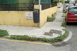 Los hierbajos crecen sin control por las diferentes barriadas de la ciudad