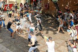 Guerra de agua en Sa Possessió