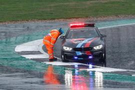 Las condiciones de la pista obligan a retrasar el Gran Premio de Gran Bretaña de MotoGP