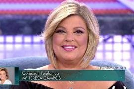 María Teresa Campos, a su hija Terelu: «Con otras tetas sí hay paraíso»