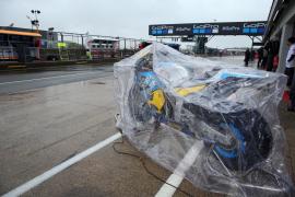 Suspendido por la lluvia el Gran Premio de Gran Bretaña