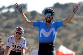 Valverde se impone en la segunda etapa de la Vuelta a España