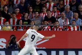 El Madrid se coloca líder tras golear al Girona