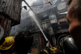 Un trágico incendio se cobra la vida de cinco hermanos en Manila