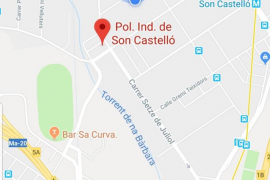 Alcantarillas y suciedad poligono son Castelló