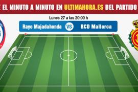 Rayo Majadahonda-Real Mallorca, en directo