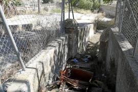 Los vecinos critican el abandono del velódromo de Es Tirador