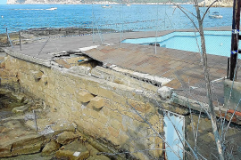 Denuncian la pasividad de Costas en la demolición a unas ruinas en Cala Conills