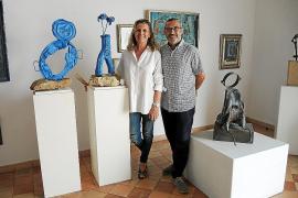 Miquela Vidal presenta 'Més de 40 anys amb l'art' en Campos