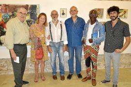Miquel Mesquida inaugura una muestra de su obra en Pollença
