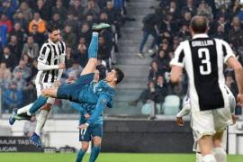 La chilena de Cristiano Ronaldo ante la Juventus, elegido mejor gol de la temporada