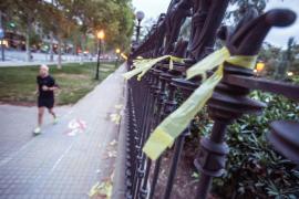 La mujer supuestamente golpeada por retirar lazos amarillos presenta una denuncia contra su agresor