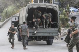 La visita de militares a Ibiza, en imágenes (Fotos: Arguiñe Escandón).