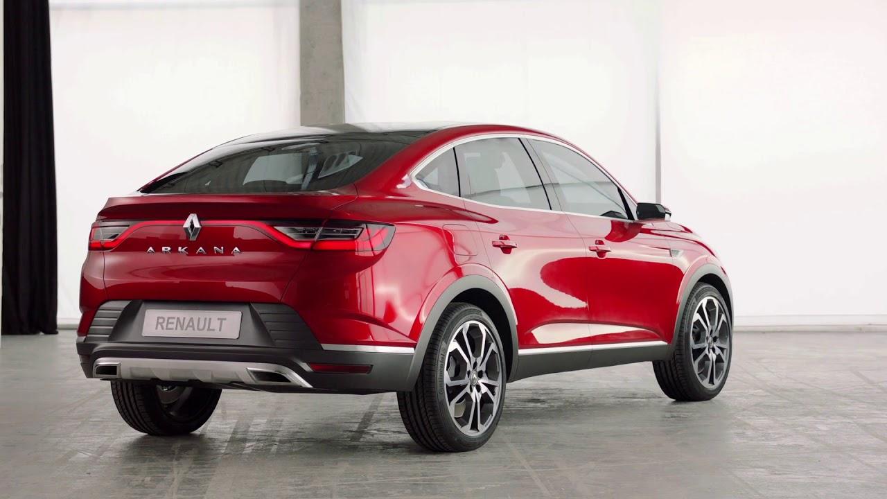 Renault presenta el nuevo Arkana en el Salón del Automóvil de Moscú 2018