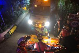 Una mujer, herida al caer al torrente de Puigpunyent