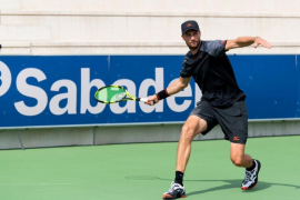 Pablo Andújar cumple con los pronósticos en el Rafa Nadal Open Banc Sabadell de Manacor