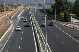 Cambios circulatorios en la carretera de Valldemossa por la obra del carril bici