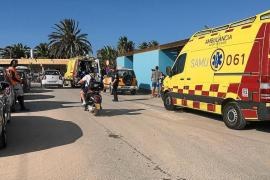 Dos heridas graves tras impactar un 'donut' acuático contra un barco en Talamanca
