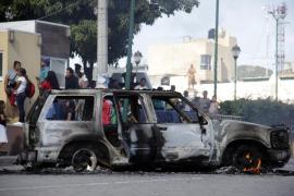 Los vecinos queman vivos a dos sospechosos de secuestro en Puebla, México