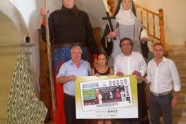 El cupón de la ONCE se viste con las Fiestas de la Beata de Santa Margalida