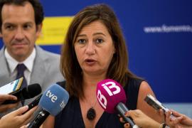 Armengol afirma que desde la Administración seguirán «vigilando» el caso de la estafa inmobiliaria