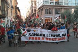 Manifestación en Palma por un «Sáhara libre»