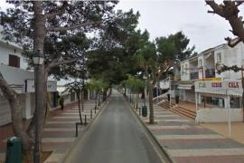 El Ayuntamiento de Santanyí invierte 37.000 euros en la ampliación de la calle peatonal Santueri de Cala d'Or
