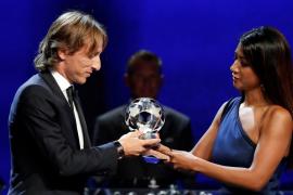 Modric, elegido mejor jugador de la pasada temporada