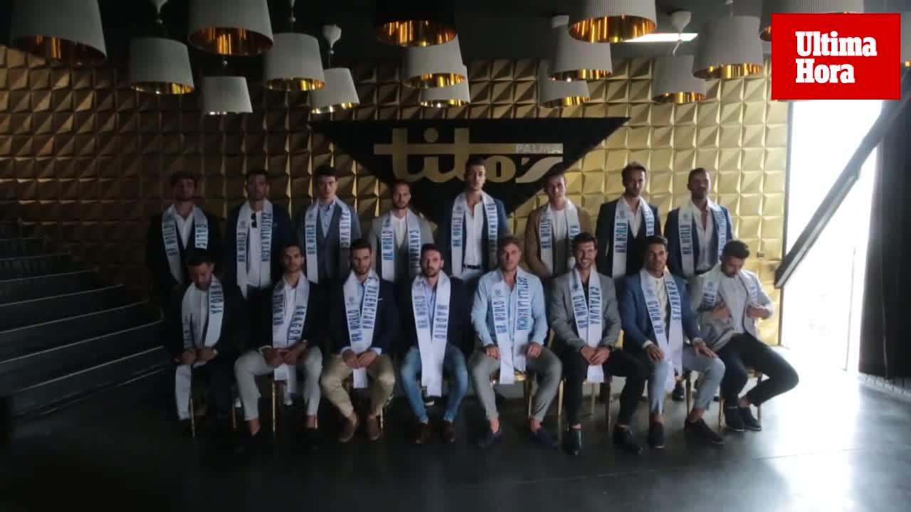 Llega a Palma la final de Mister World Spain 2018