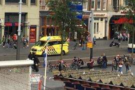 Varios apuñalamientos en la estación ferroviaria de Amsterdam
