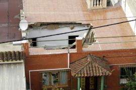 Se derrumba el techo de una casa en La Vileta sin causar heridos