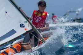 María Perelló, tercera fémina en el Mundial de Optimist