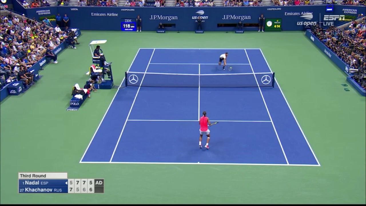 Nadal doblega a un complicado Khachanov y avanza en el US Open